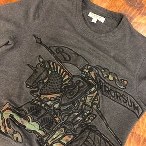 Burberry Embroidered Sweatshirt